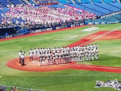 慶應高校野球部夏の軌跡その1写真1