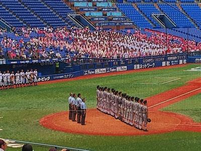 慶應高校野球部夏の軌跡その1写真2
